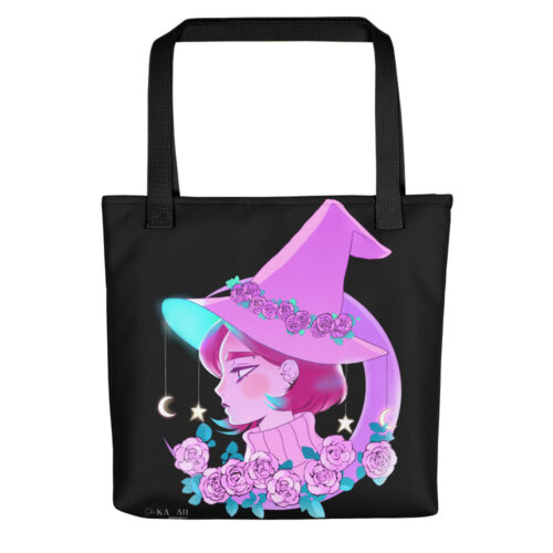 Shopping Bag Pink Witch