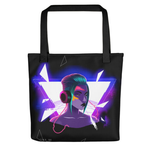 Shopping Bag Synthwave