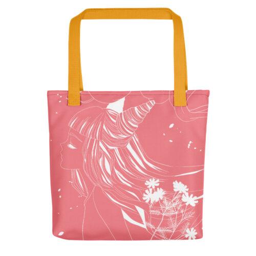 Shopping Bag Floral Pink