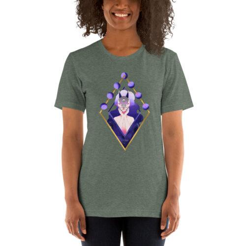T-Shirt unisex a maniche corte – Mask Fox
