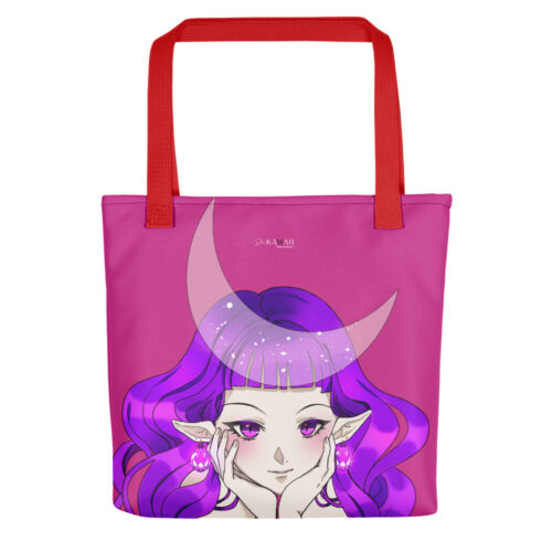 Shopping Bag Violet Elf Cherry